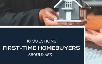 10 Questions First-Time Home Buyers Commonly Ask